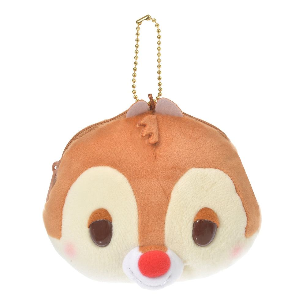 Dale Plush Keychain Pouch Mocchi Soft Face Disney Store Japan