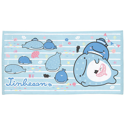 Jinbei San Whale Shark Bath Towel M Swim San-X Japan