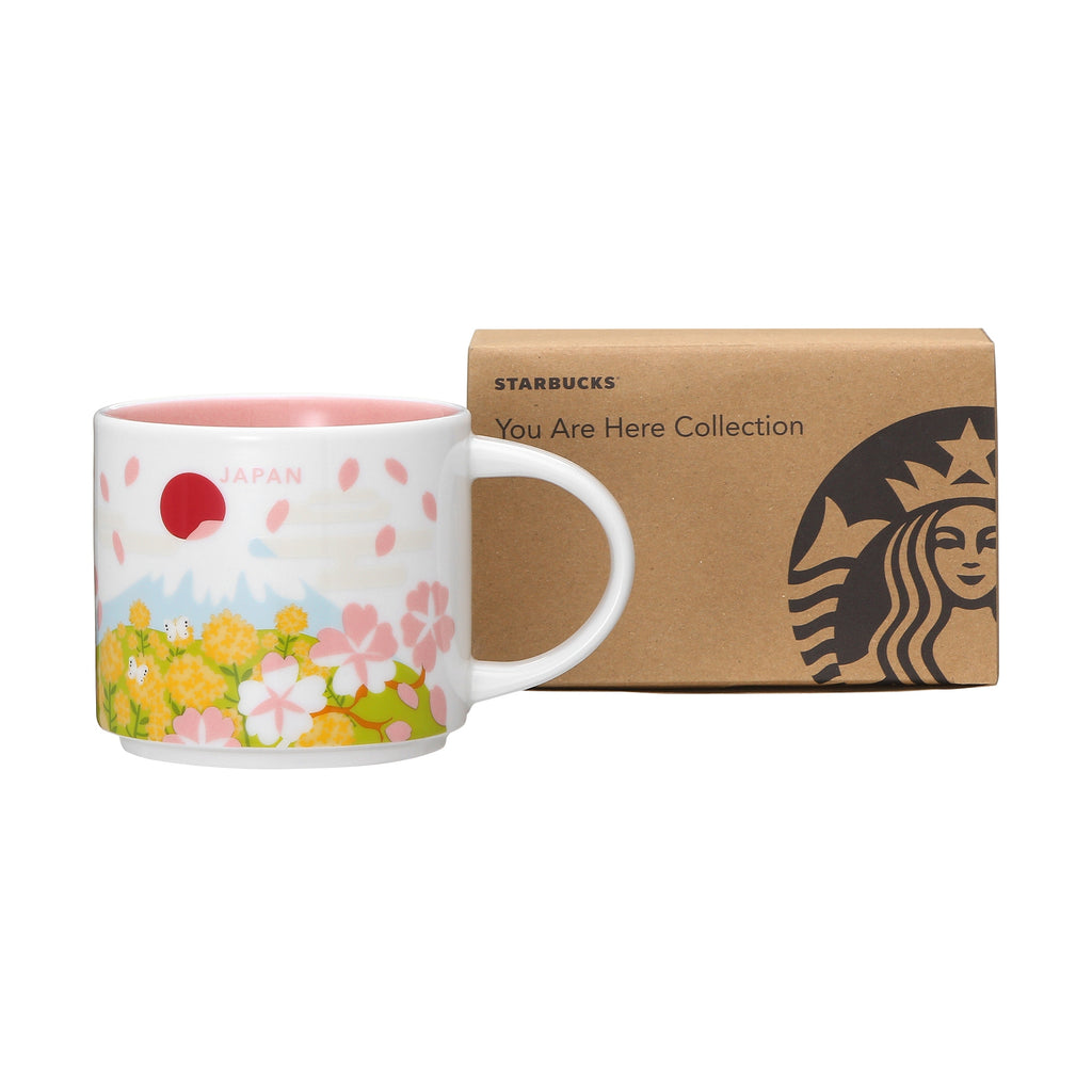 You Are Here Collection Mug Cup Spring 414ml Starbucks Japan Sakura 2019