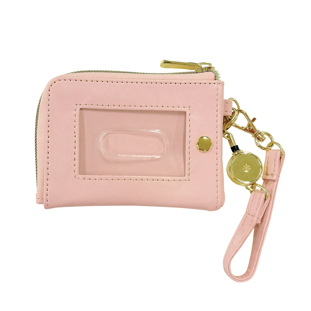 Pass Case Coin Pouch PINK LITTLE RAINBOW Pikachu number025 Pokemon Center Japan