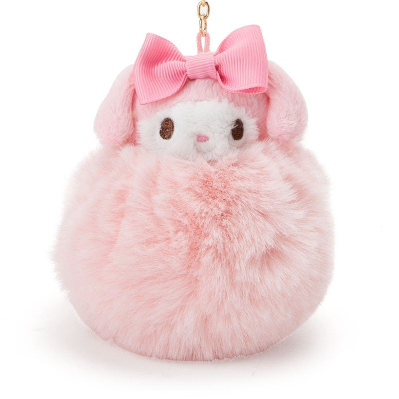 My Melody Fur Bag Charm Sanrio Japan