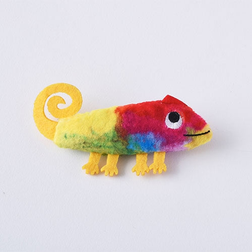 A Color of His Own Chameleon Mascot Brooch Leo Lionni Japan