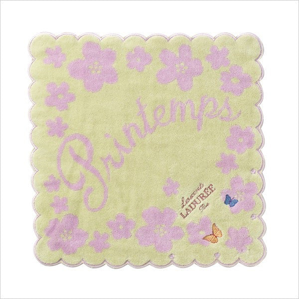 Towel Handkerchief Printemps Green Laduree Japan