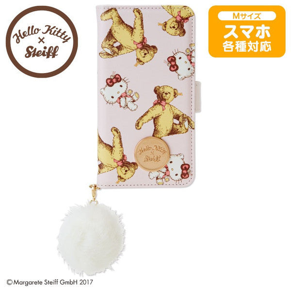 Hello Kitty Various Mobile Smartphone Case Cover Steiff Sanrio Japan