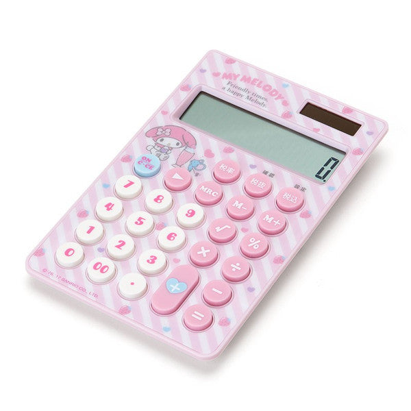My Melody Calculator 12 digit Flyer Sanrio Japan