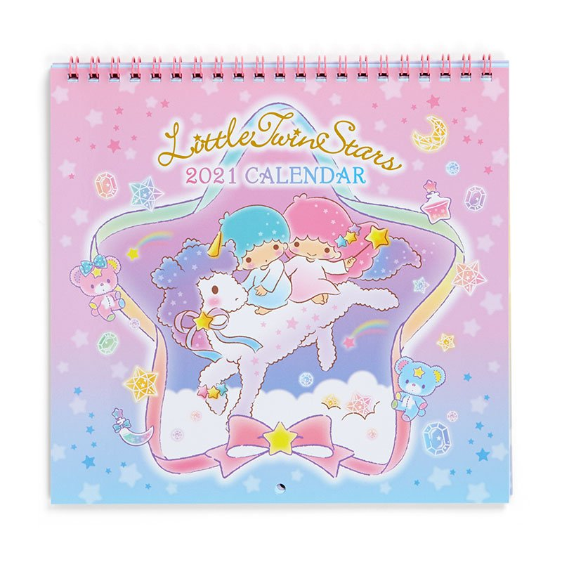 Little Twin Stars Kiki Lala Wall Calendar 2021 M Sanrio Japan