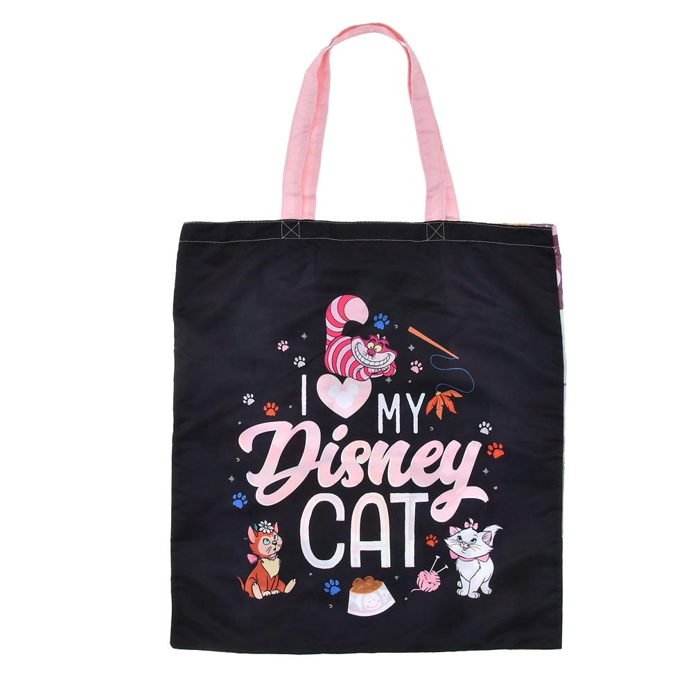 Eco Shopping Tote Bag I Love MY Disney CAT Store Japan 2021