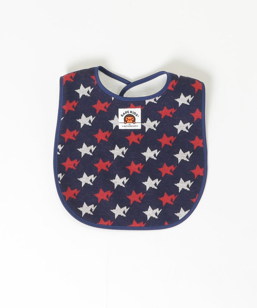 STA MULTI BABY MILO BIB KB Navy A BATHING APE Japan