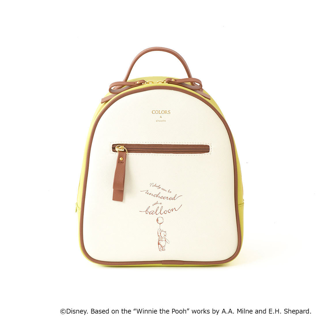 32e31c57d0c Winnie the Pooh Round Backpack Christopher Robin COLORS   chouette Jap –  VeryGoods.JP
