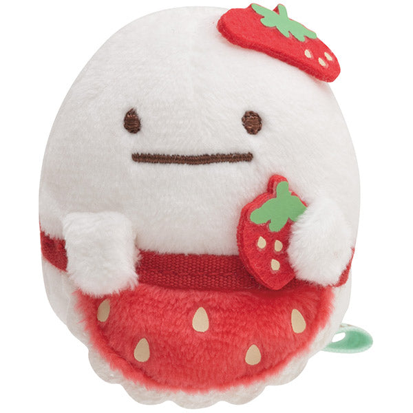 Sumikko Gurashi Obake Ghost mini Tenori Plush Doll Strawberry Fair San-X Japan