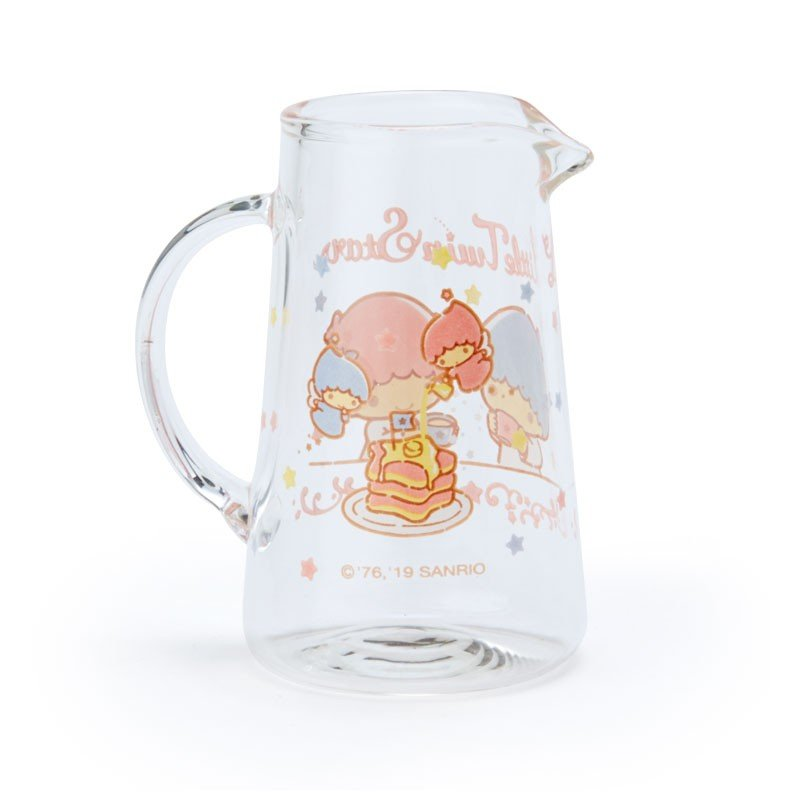 Little Twin Stars Kiki Lala Milk Pitcher Winter Tea Time Sanrio Japan