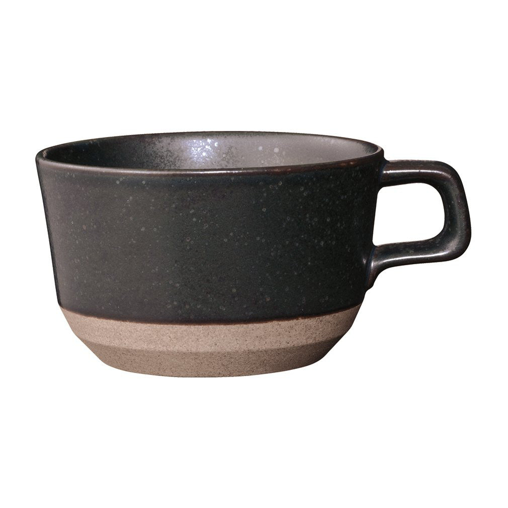 CERAMIC LAB Wide Mug Cup CLK-151 400ml Black KINTO Japan 29528