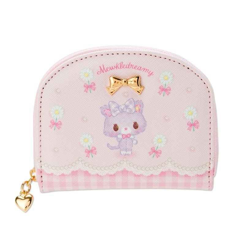 Mewkledreamy Coin Case Pouch Ribbon Sanrio Japan