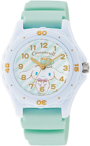 Cinnamoroll 15th Wrist Watch Waterproof HC01-001 CITIZEN Q&Q Japan Sanrio