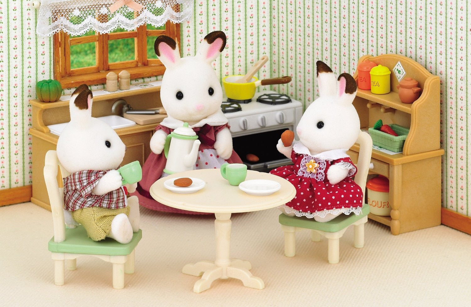 Sylvanian Families Dining Room Set Se 150 Japan Calico Critters