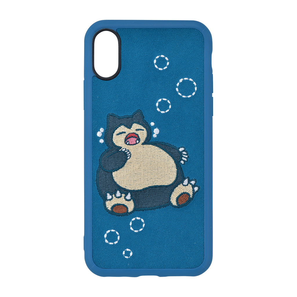 Snorlax Kabigon Yawn iPhone X / XS Case Cover Soft Pokemon Center Japan Original