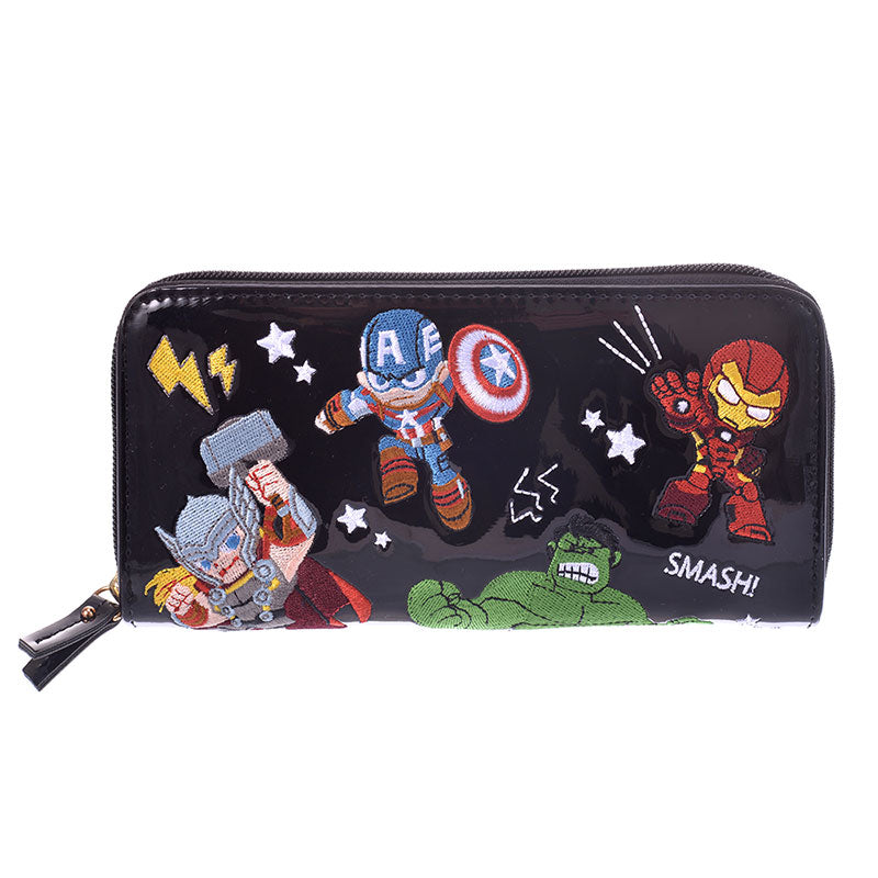 Marvel Gurihiru Zipper Long Wallet Disney Store Japan