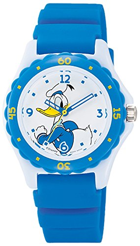 Donald Wrist Watch Waterproof Blue HW02-004 CITIZEN Q&Q Japan Disney