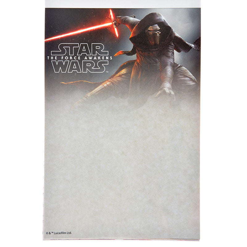 Memo A6 Size Star Wars The Force Awakens Stationery Disney Store Japan