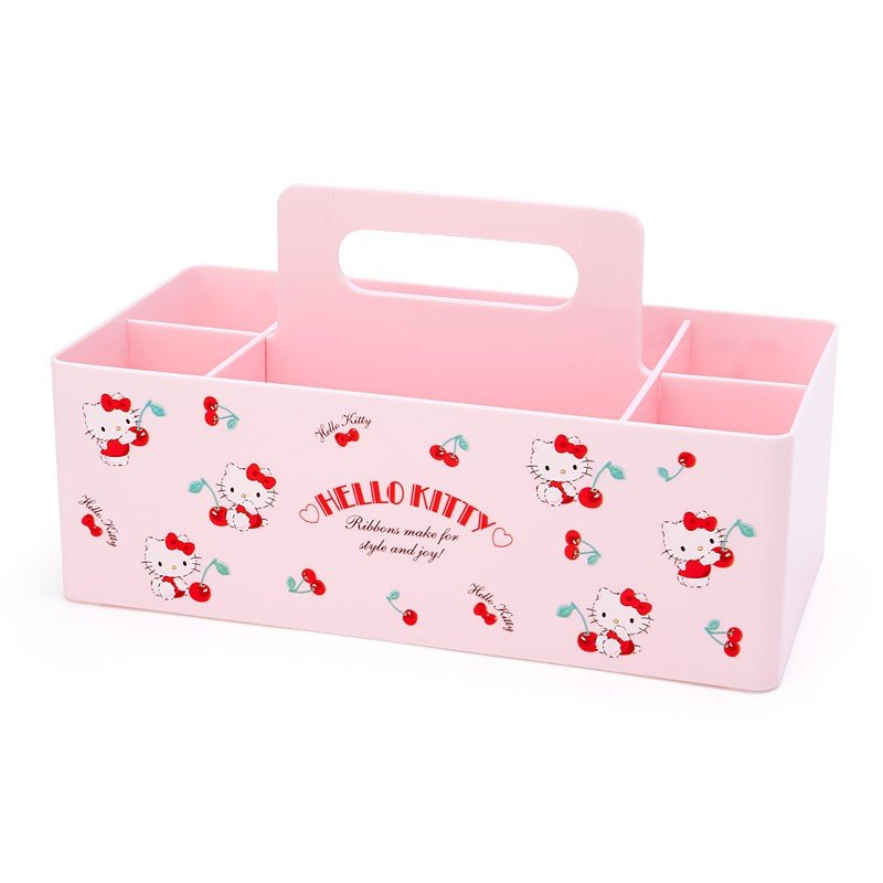 Hello Kitty Carry Storage Box Sanrio Japan