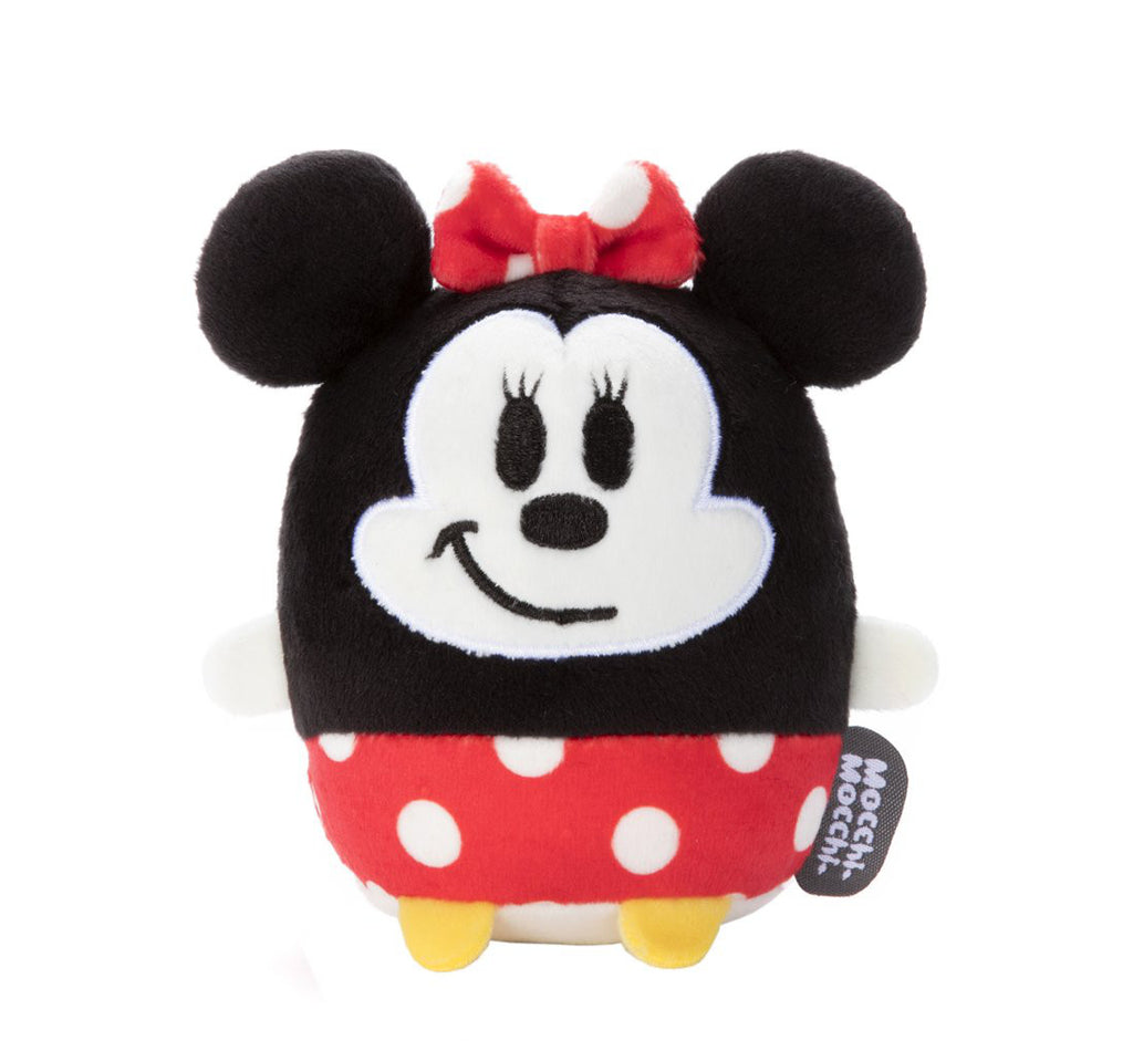 Minnie Plush Doll Disney-Mocchi-Mocchi- mini Takara Tomy Japan