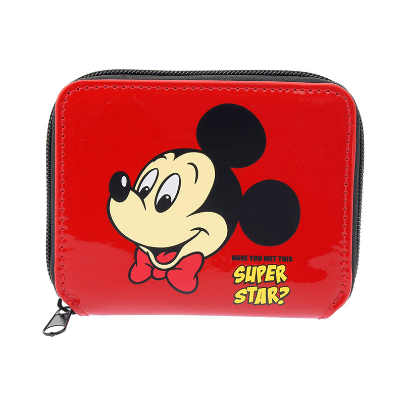 Bifold Wallet Mickey Mouse 90th Vintage Disney Store Japan