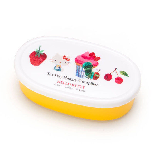 Hello Kitty The Very Hungry Caterpillar Lunch Box 39cs Set Heart Sanrio Japan