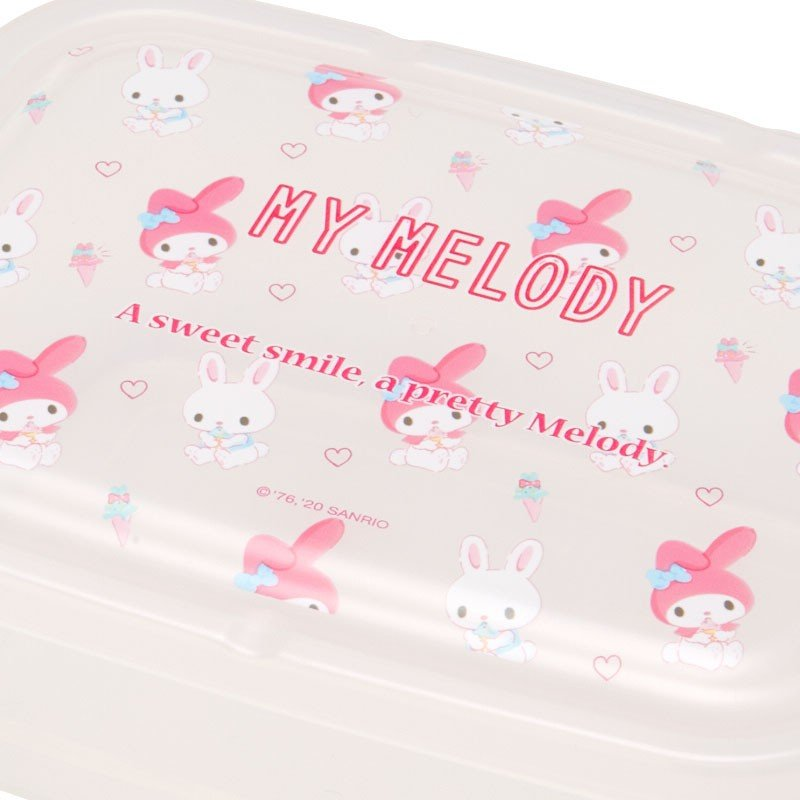 My Melody Storage Container 2pcs Set Sanrio Japan