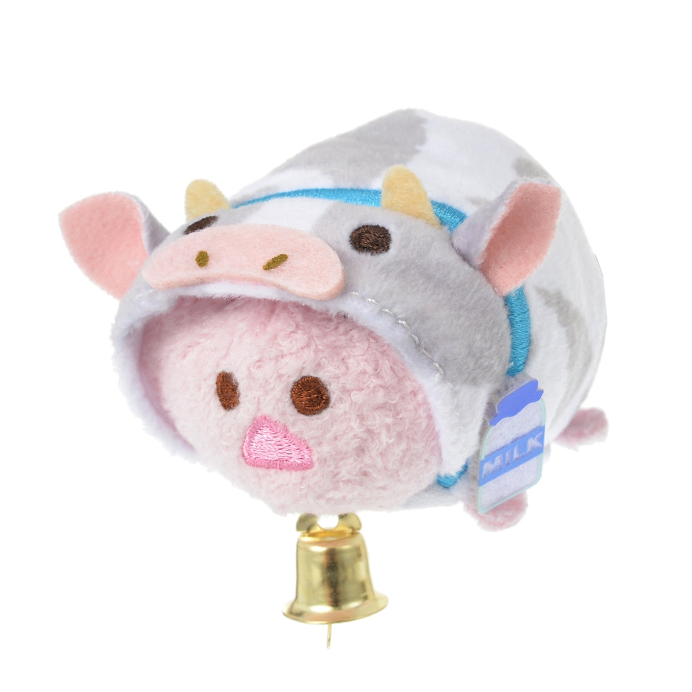 Piglet Tsum Tsum Plush mini S Eto Zodiac 2021 Cow Disney Store Japan New Year