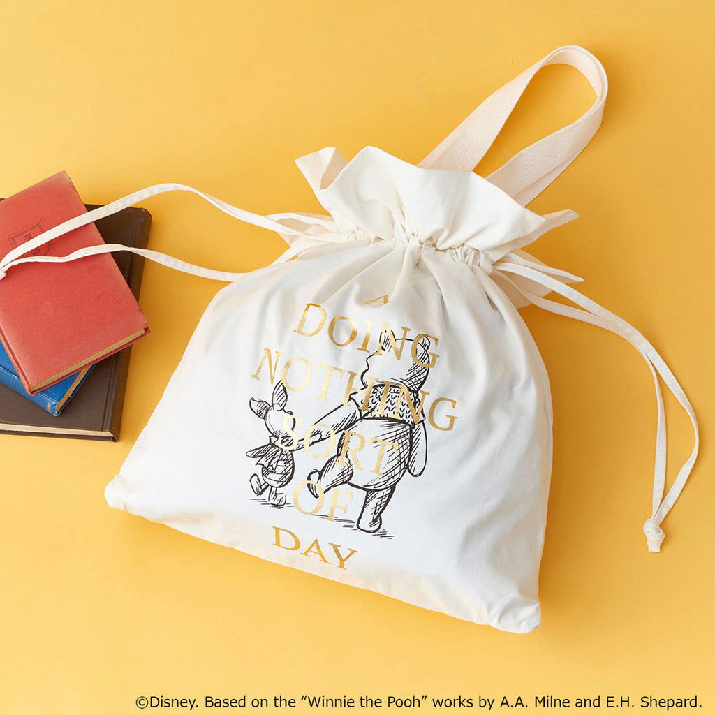 Winnie the Pooh Campus Bag Christopher Robin COLORS & chouette Japan Disney