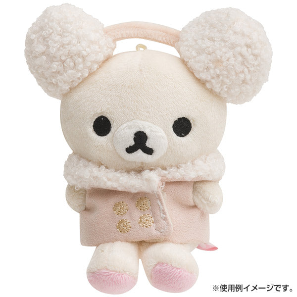 Rilakkuma Costume for Plush Doll Coat & Earmuffs San-X Japan