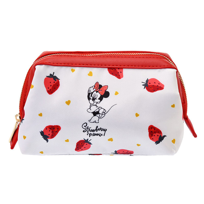 Minnie Pouch Strawberry Ichigo Lifestyle Disney Store Japan