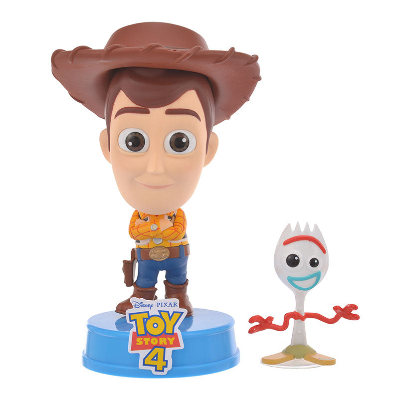 Toy Story 4 Woody & Forky CosBaby Figure S Disney Store Japan COS#602