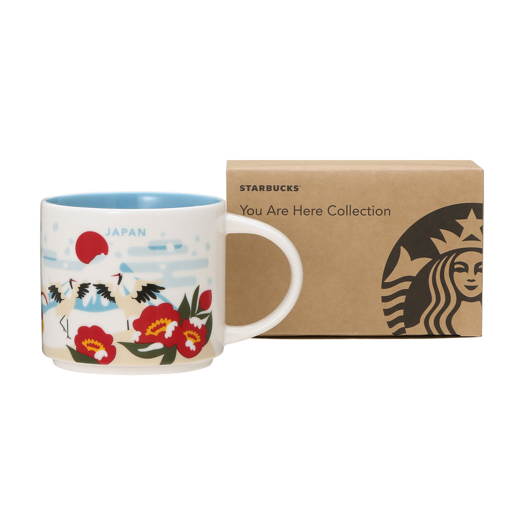 Starbucks You Are Here Collection Mug Cup JAPAN Winter 414ml