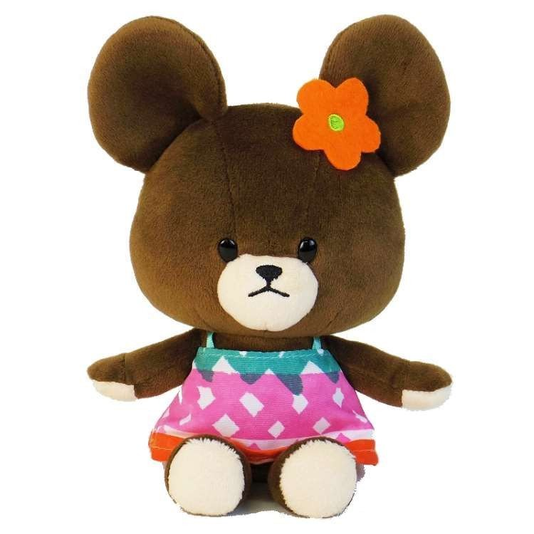 Jackie Soft Bean Doll Plush Vitamin Color Orange the bears' school Japan