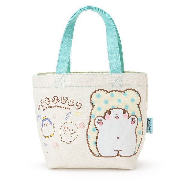 Marumofubiyori Tote Hand Bag Good Friend Sanrio Japan