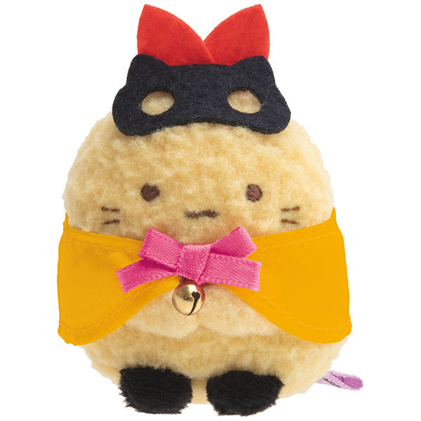 Sumikko Gurashi Fried Shrimp Tail Cat mini Tenori Plush San-X Japan Halloween