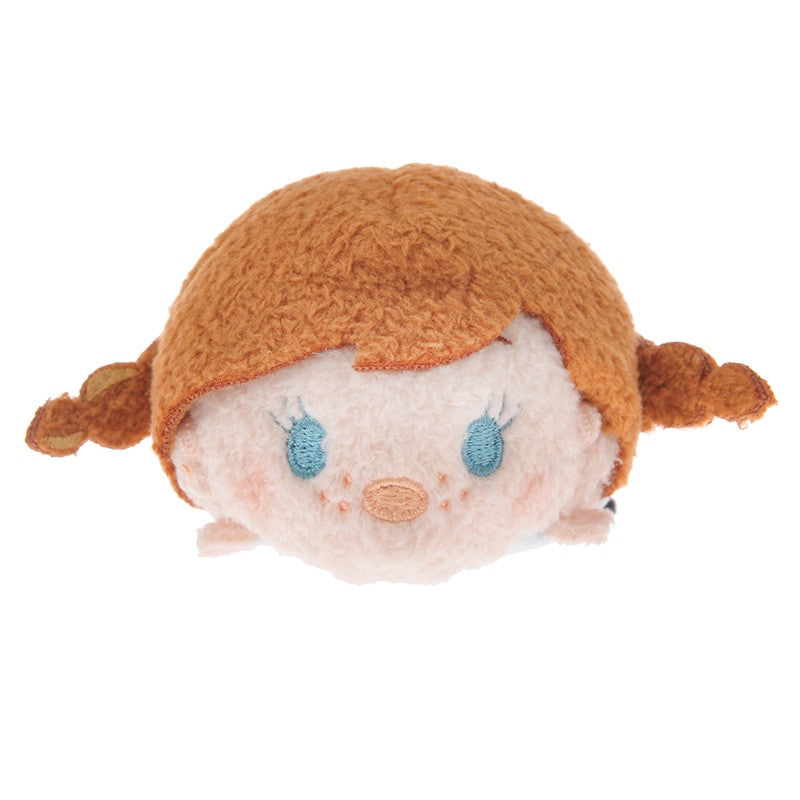 Disney Store Japan TSUM TSUM (S) Frozen Anna Plush Doll Princess