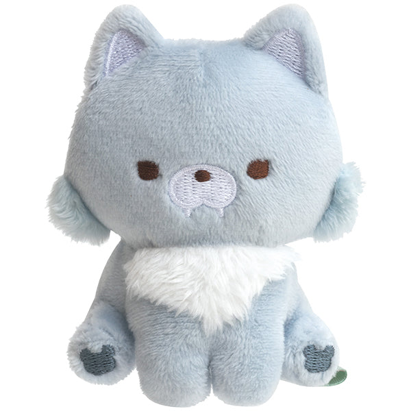 Blue Wolf mini Tenori Plush Doll Chairoikoguma's Friends San-X Japan Rilakkuma