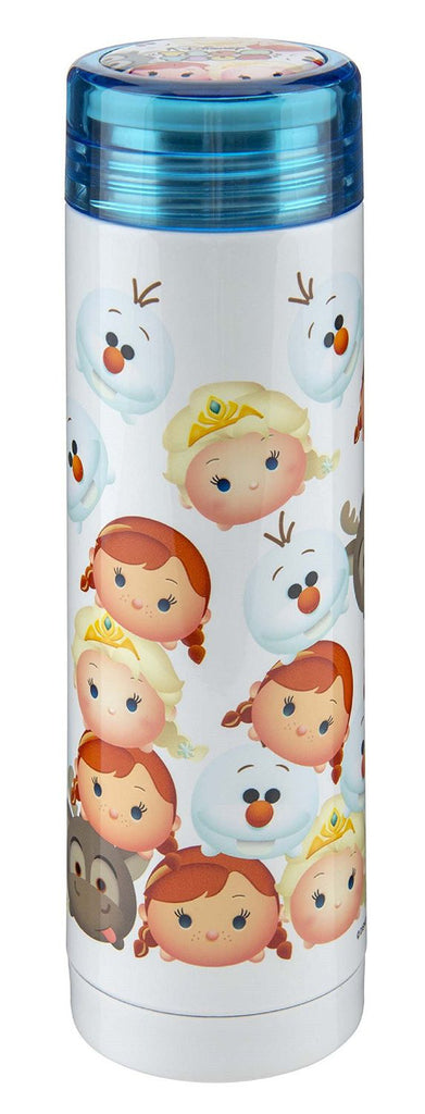 TSUM TSUM Frozen Elsa Stainless Slim Bottle Tumbler Disney Japan
