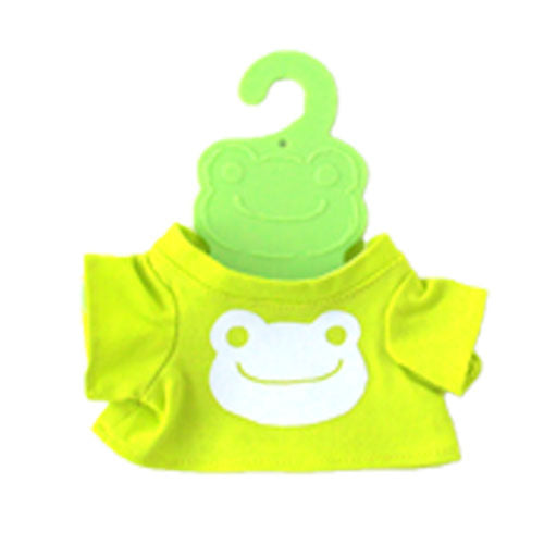 Pickles the Frog Costume for Bean Doll Plush mini T-shirt Face Green Japan