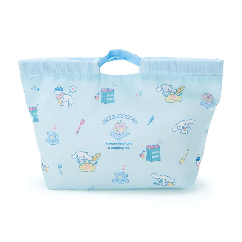 Cinnamoroll Drawstring Lunch Bag HAPPY SPRING Sanrio Japan 2021