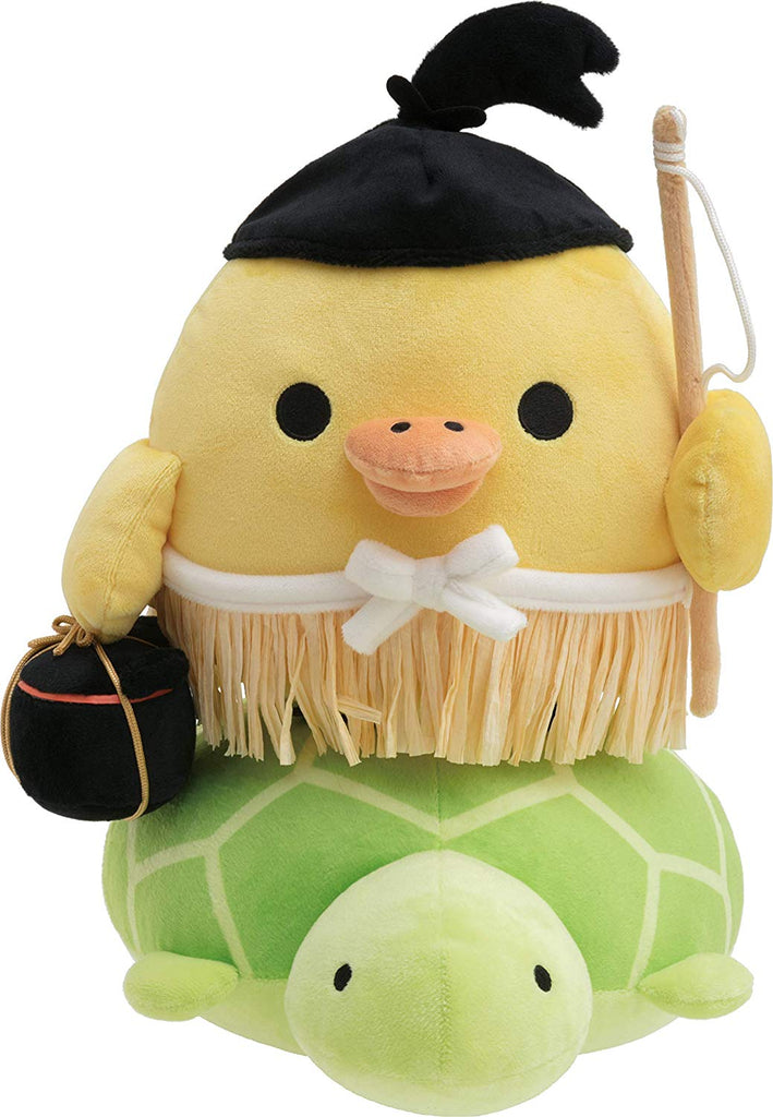 Kiiroitori Yellow Chick Plush Doll M Urashima Taro Fairy Tale San-X Japan