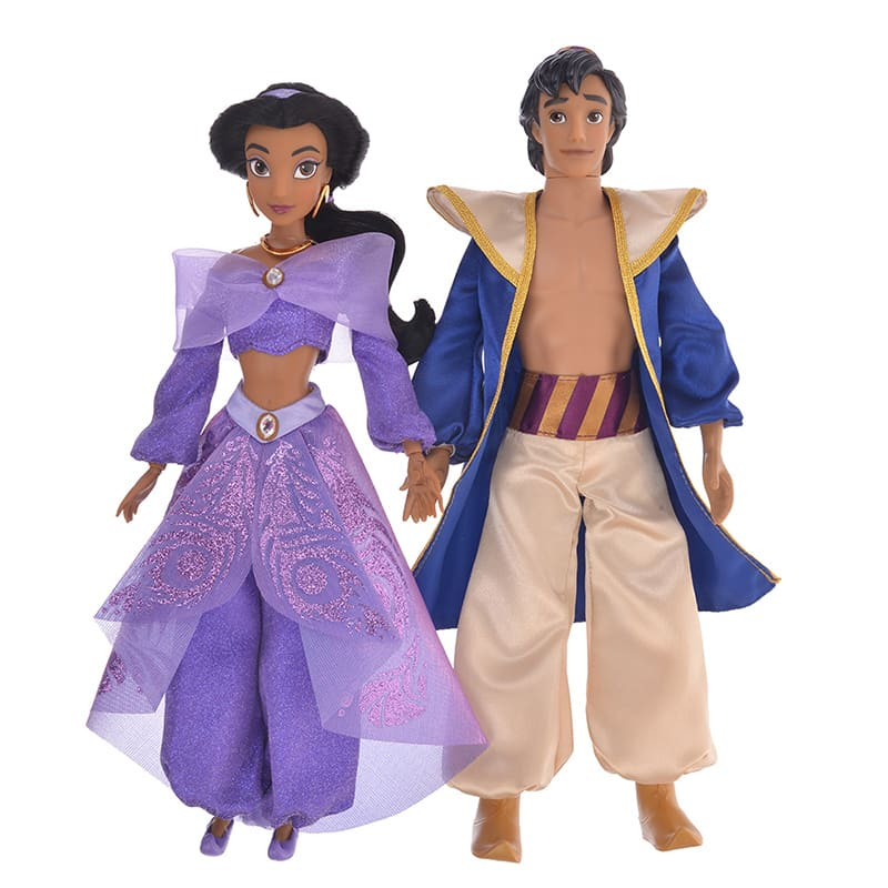 Aladdin & Jasmine Singing Doll Aladdin 2019 Disney Store Japan