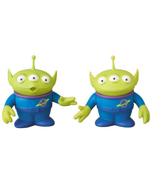 Alien 2pcs Set UDF Figure Toy Story Series Ultra Detail Figure Pixar Disney