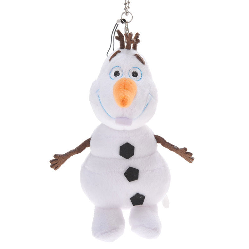 Frozen Olaf Plush Doll Key Chain Disney Store Japan