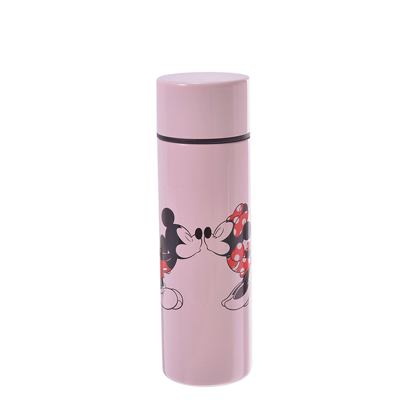Mickey & Minnie Stainless Bottle 110ml Lipstick Pink Disney Store Japan