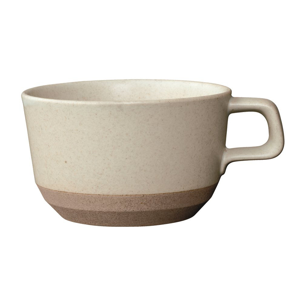 CERAMIC LAB Wide Mug Cup CLK-151 400ml Beige KINTO Japan 29526