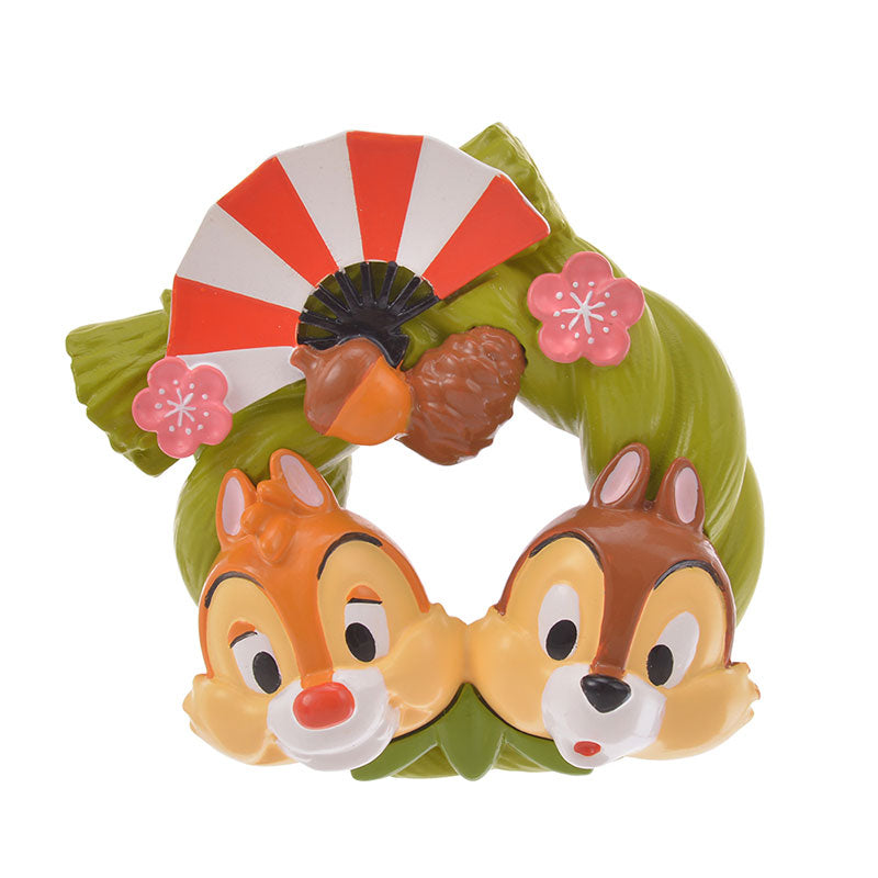 Chip & Dale Mascot Figure Eto Disney 2020 Disney Store Japan New Year