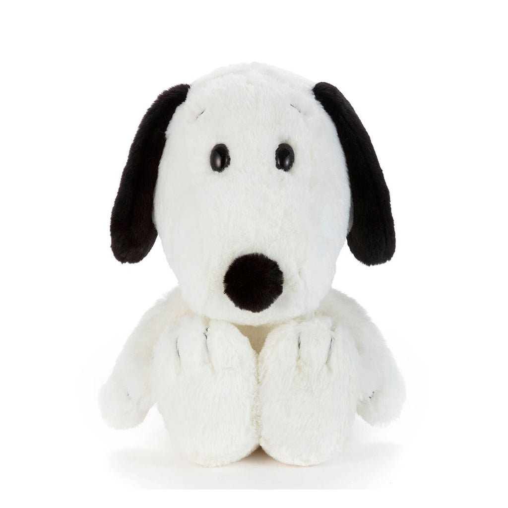 Snoopy Fluffy Fuwanade Plush Doll M Takara Tomy Peanuts Japan